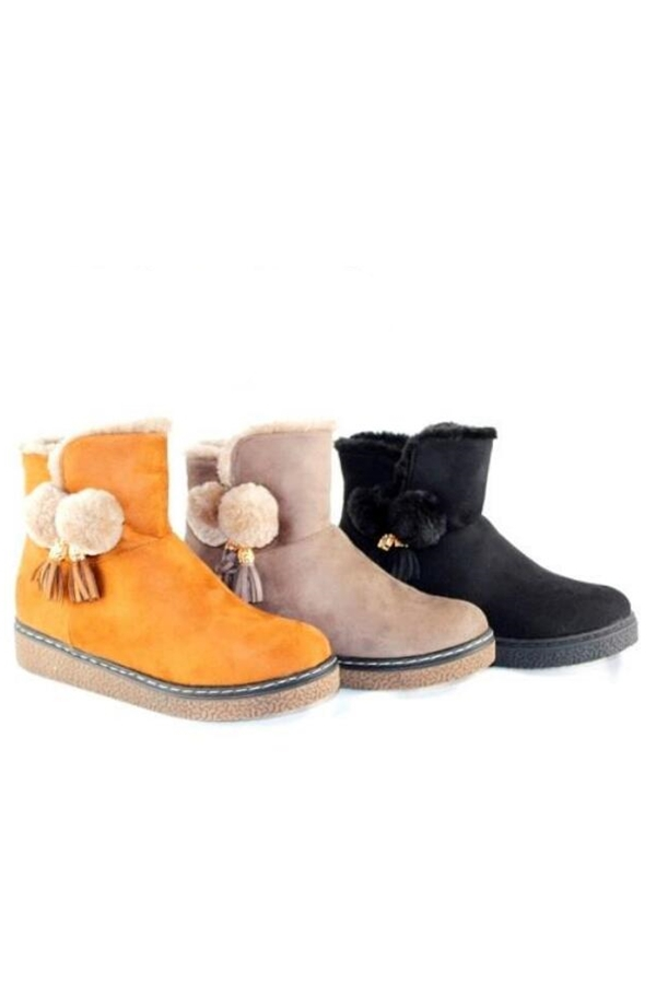 Nylon Weather Duck Booties  - orangeshine.com
