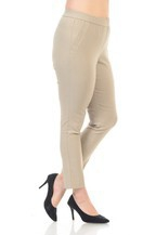 PLUS FOUR WAY STRETCH PULL ON PANTS - orangeshine.com
