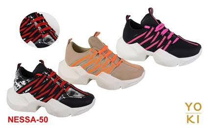 LADIES PLATFORM SNEAKERS  - orangeshine.com