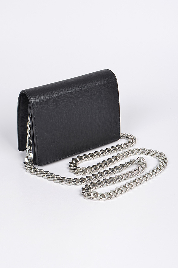 Small Box Clutch With Thick Chain - orangeshine.com