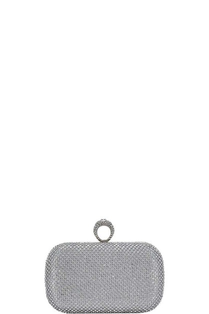 STRUCTURED PARTY RING CLUTCH - orangeshine.com