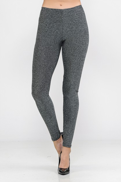 LUREX ELASTIC WAIST BAND LEGGINGS - orangeshine.com
