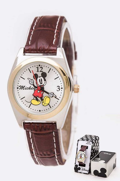 Mickey Mouse Disney Watch Tin Box Se - orangeshine.com