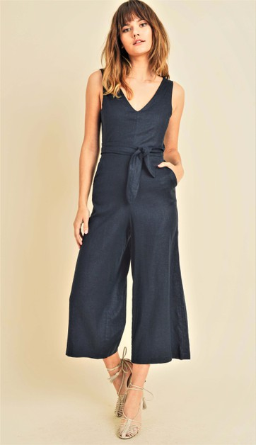 Wrap around jumpsuit - orangeshine.com