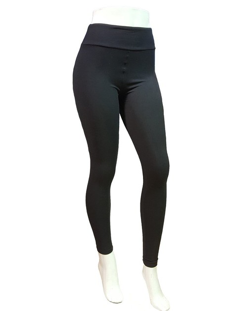 Wide Band Soft Yoga Leggings - orangeshine.com