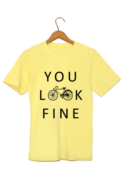 You Look Fine Graphic Tee - orangeshine.com