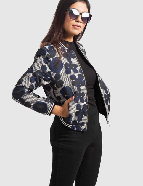 Womens Plus Size Textured Jacket - orangeshine.com
