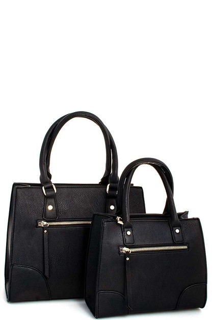 2 IN 1 TOTE SET WITH TWO STRAPS - orangeshine.com