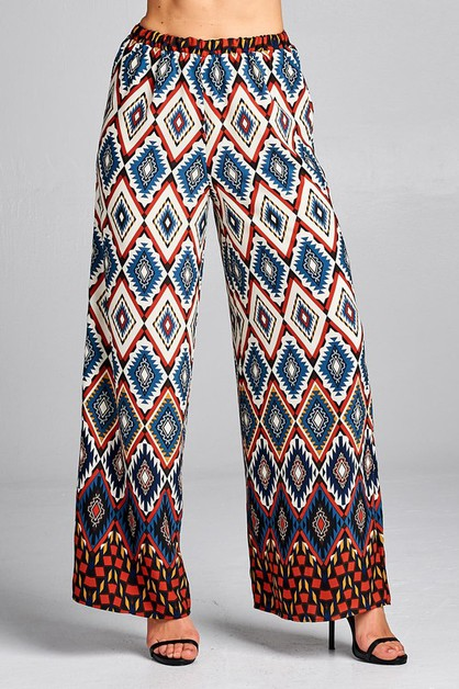 High Waist Palazzo Pants  - orangeshine.com