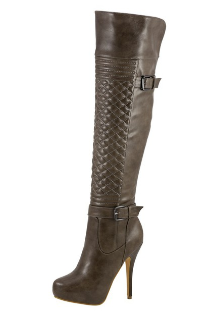 OVER THE KNEE HIGH BOOTS  - orangeshine.com