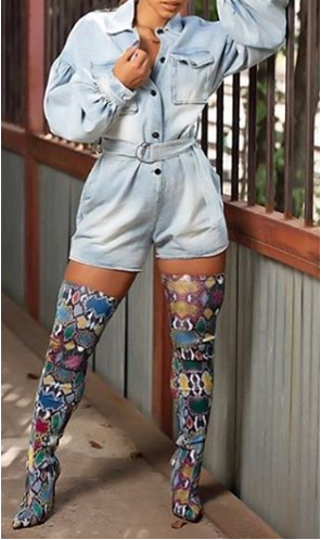 3 COLORS TALL BOOTS - orangeshine.com