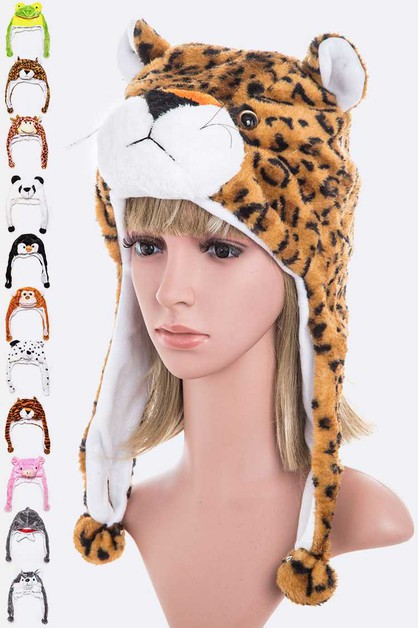 Mix Animal Kids Winter Hat Set - orangeshine.com