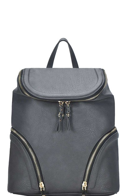 CHIC FASHION BUCKET BACKPACK - orangeshine.com