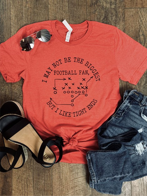 Tight End Football Graphic Tee - orangeshine.com
