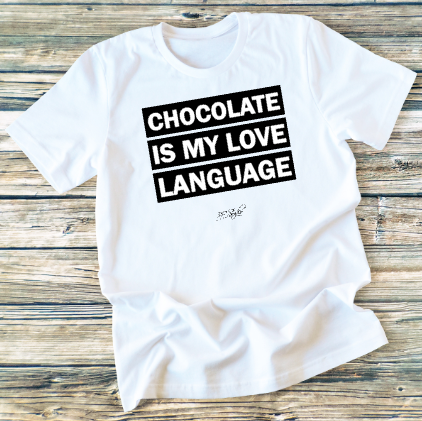 GRAPHIC TEE - Chocolate Love - orangeshine.com