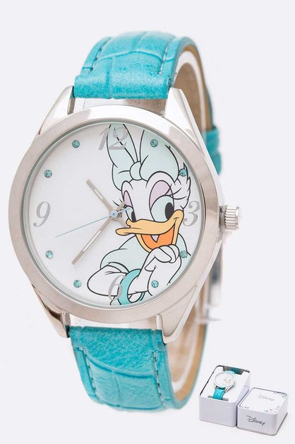 Disney Daisy Duck Fashion Watch Set - orangeshine.com