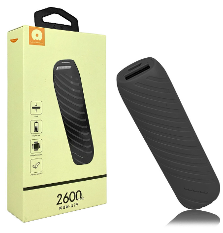 WUW JLW 2600mAh Power Bank with Sing - orangeshine.com