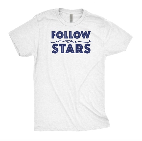 FOLLOW THE STARS TEE - orangeshine.com