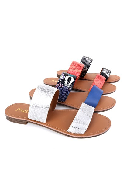 Women Flat Slipper Sandals - orangeshine.com