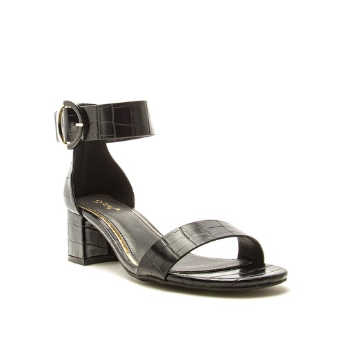 Qupid Women Ankle Strap Block Heel - orangeshine.com