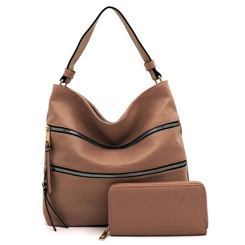 Fashion Zipper 2-in-1 Shoulder Bag - orangeshine.com