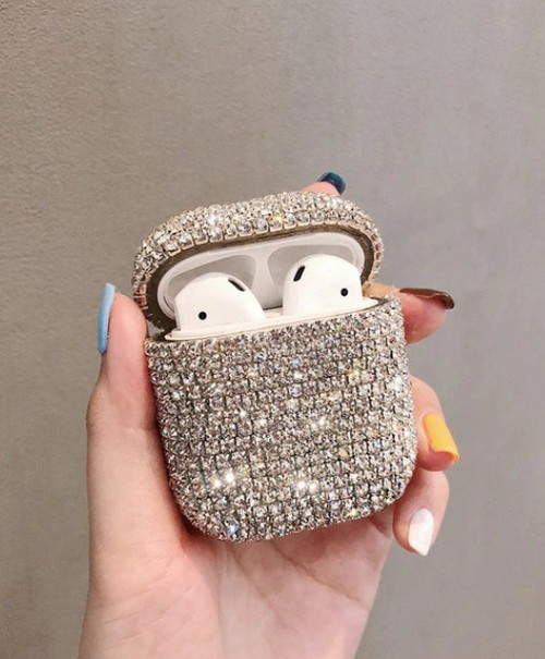 Rhinestone Air Pod Case - orangeshine.com