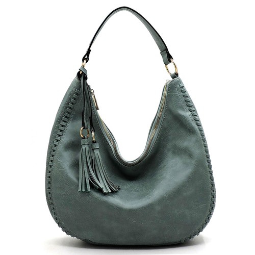 Fashion Whipstitch Shoulder Bag  - orangeshine.com