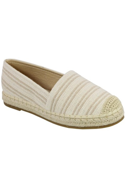 SLIP ON espadrilles  - orangeshine.com