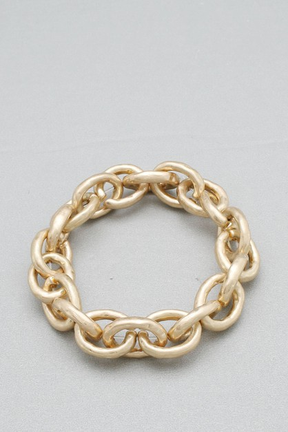 CHAIN NON STRETCH BRACELET - orangeshine.com