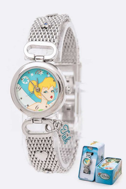 Disney Tinker Bell Mesh Band Watch T - orangeshine.com