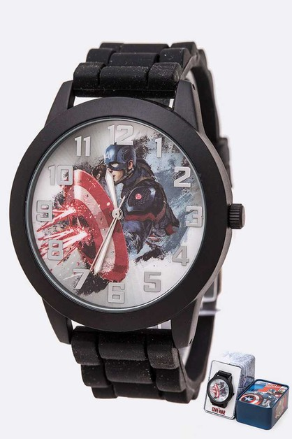 Marvel Captain America Watch Gift Se - orangeshine.com