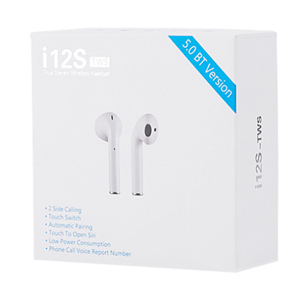 i12S Wireless 50 Earphone Stereo Ea - orangeshine.com