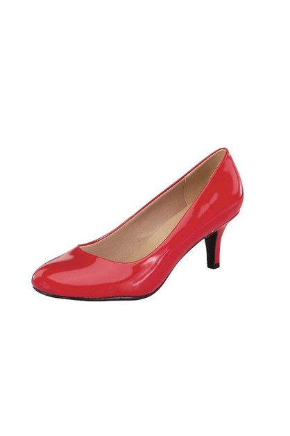 Stiletto Low Heels Pointed Toe Pumps - orangeshine.com