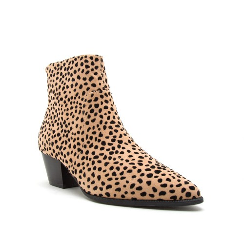 Qupid Women Pointed Toe Cowboy Booti - orangeshine.com