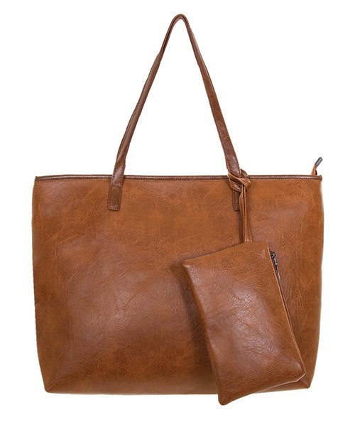TOTE WITH WRISTLET - orangeshine.com