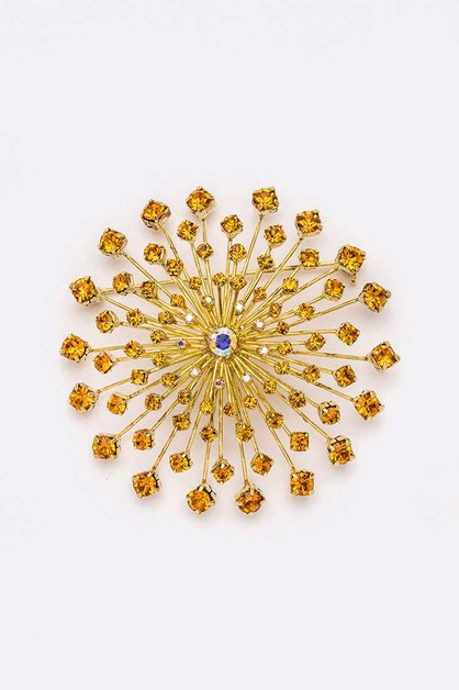 Iconic Large Flower Brooch - orangeshine.com