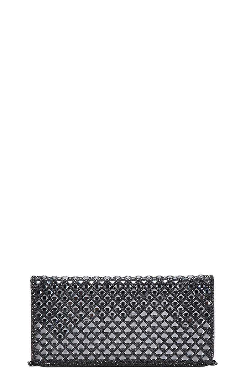 FASHION CHIC CLUTCH WITH CHAIN - orangeshine.com
