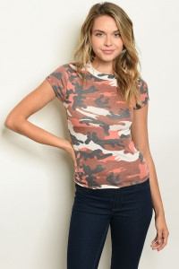 CAMOUFLAGE TOP - orangeshine.com