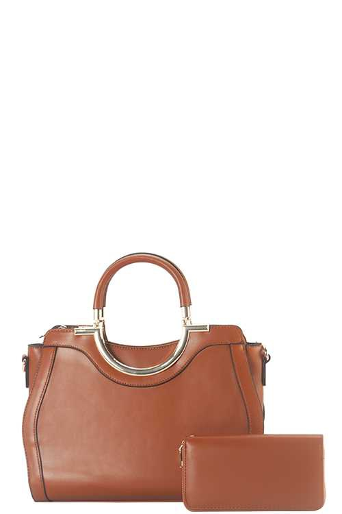 2 IN 1 METAL HANDEL SATCHEL SET - orangeshine.com