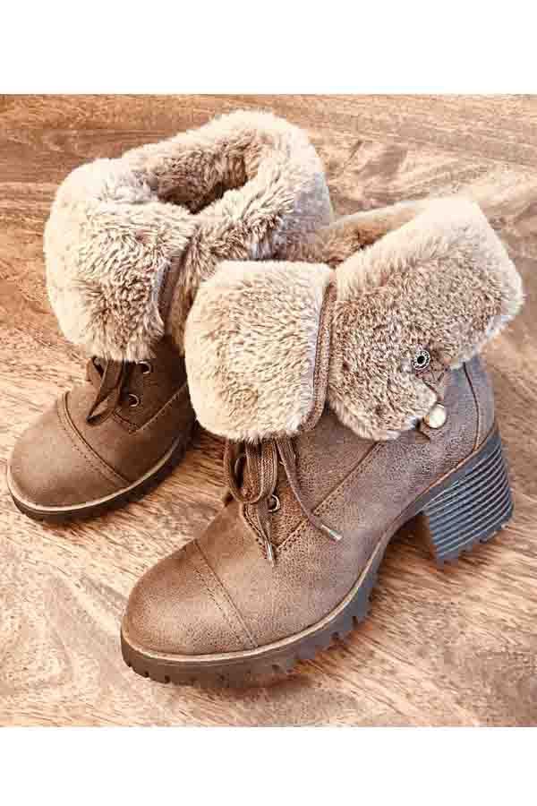 Women Winter Snow booties - orangeshine.com