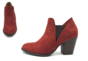 2 COLORS BOOTIES - orangeshine.com