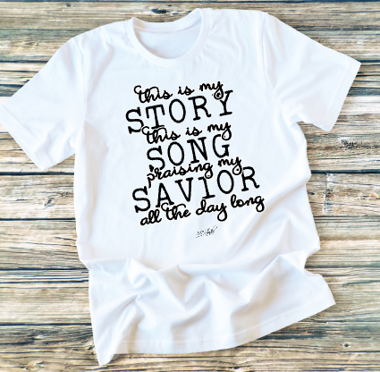 GRAPHIC TEE - This Is My Story - orangeshine.com