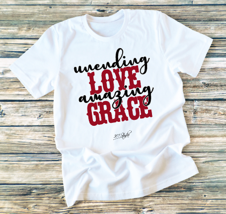 GRAPHIC TEE - Unending Love - orangeshine.com