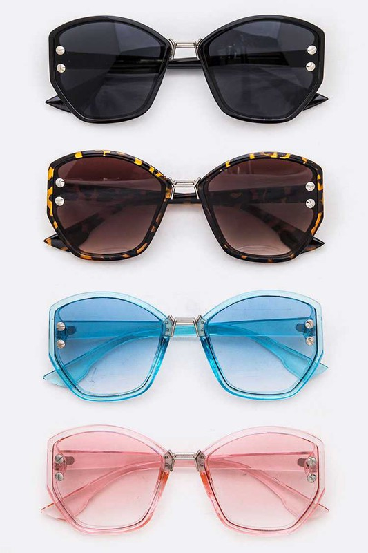Studded Iconic Sunglasses Set - orangeshine.com