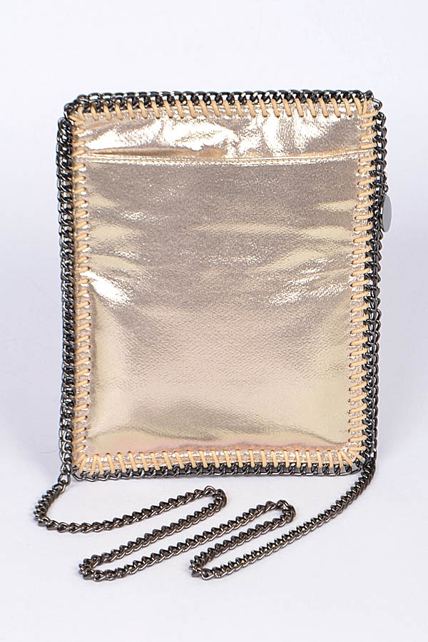Chain Edge Clutch - orangeshine.com