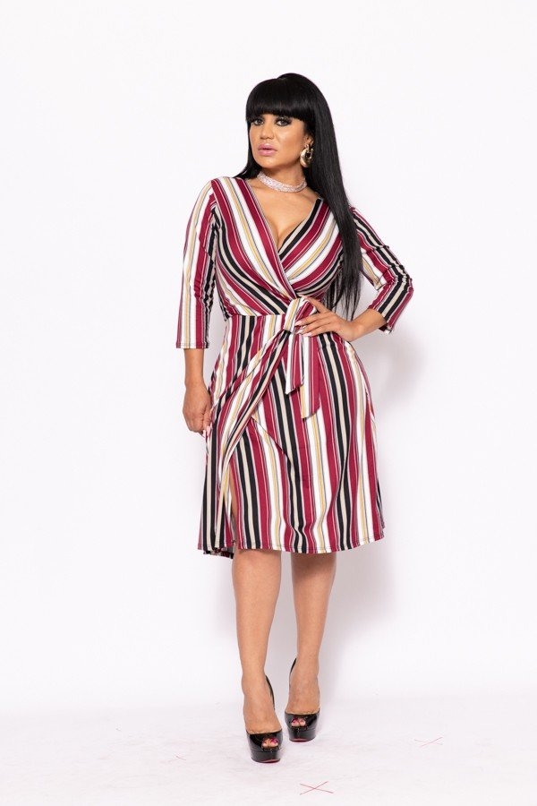 WRAP DRESS  - orangeshine.com