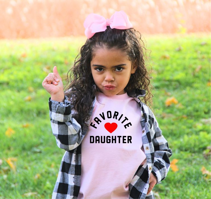 Favorite Daughter YOUTH Graphic Tee - orangeshine.com
