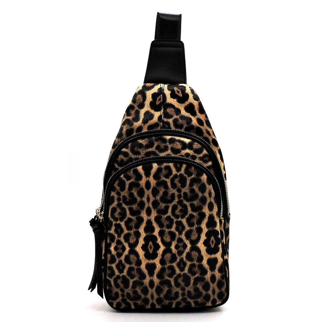 Leopard Sling Backpack - orangeshine.com