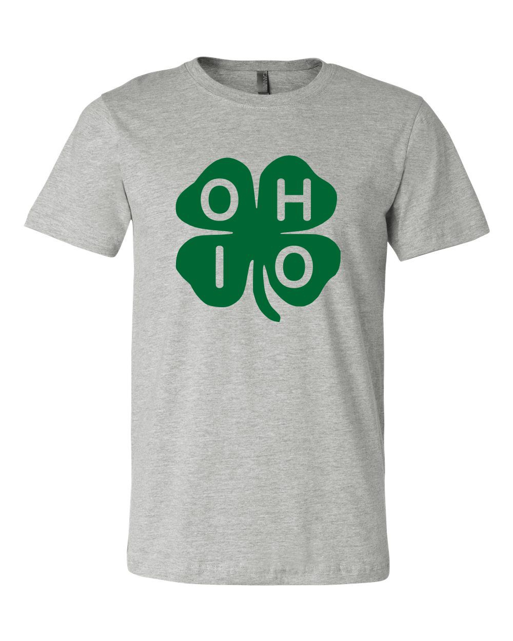 Ohio Shamrock Boutique Tee - orangeshine.com