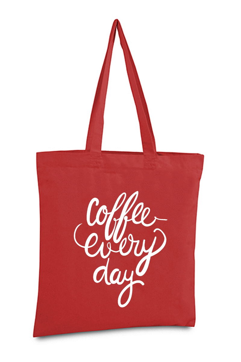 COFFEE EVERY DAY TOTE BAG - orangeshine.com